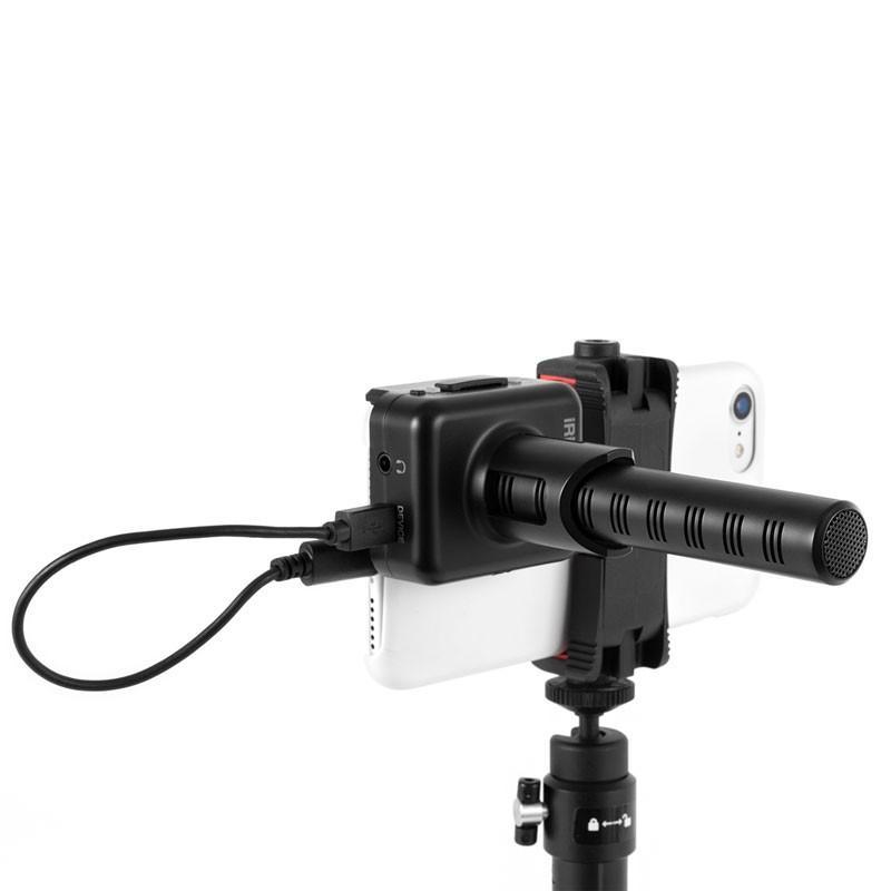 マイク IK Multimedia iRig Mic Video スマホにくっつくデジタル接続ショットガンマイク マイク本体 focalpoint 02