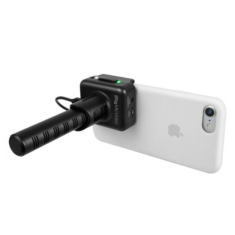 マイク IK Multimedia iRig Mic Video スマホにくっつくデジタル接続ショットガンマイク マイク本体 focalpoint 05