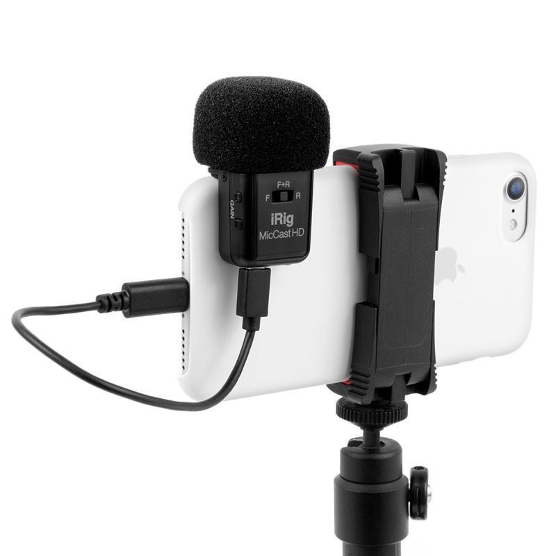 マイク IK Multimedia iRig Mic Video スマホにくっつくデジタル接続ショットガンマイク マイク本体 focalpoint 07