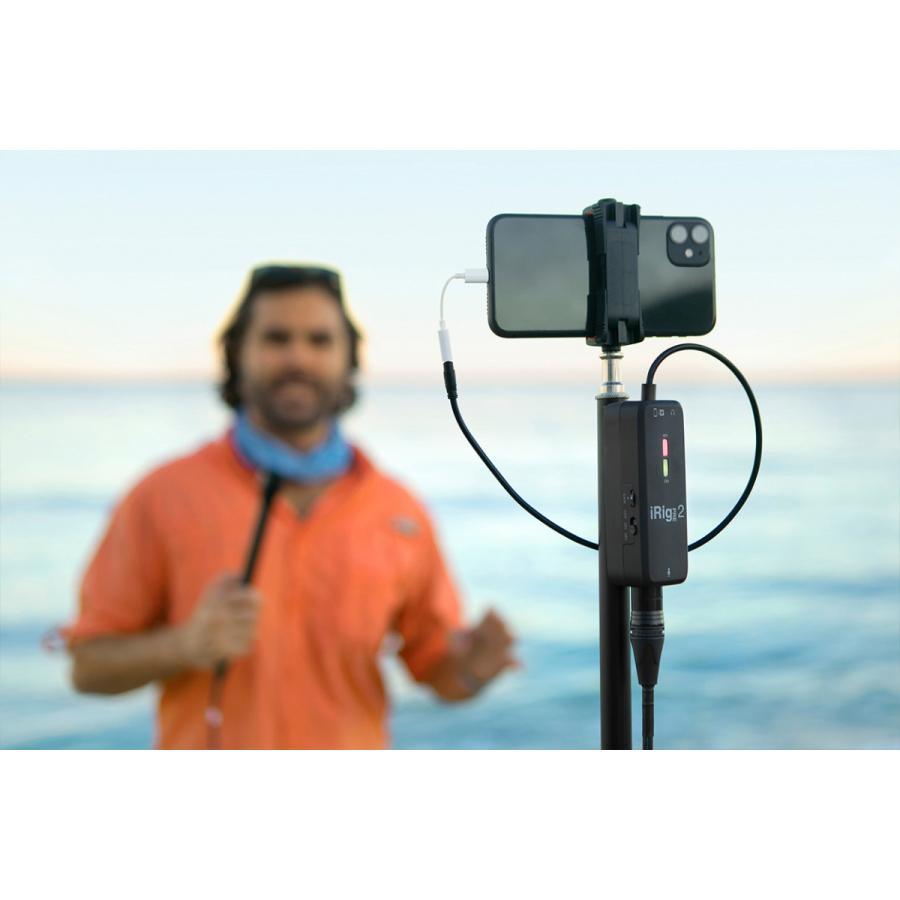 IK Multimedia iRig Pre 2 オーディオ ストリーミング|focalpoint|14