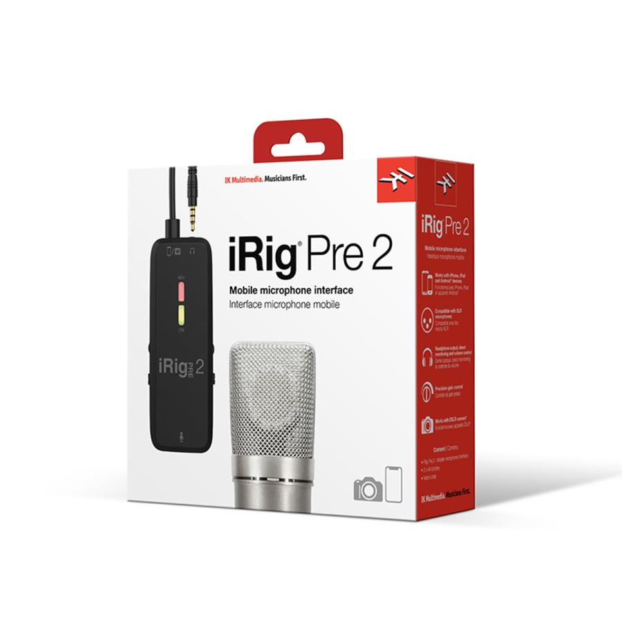 IK Multimedia iRig Pre 2 オーディオ ストリーミング|focalpoint|08