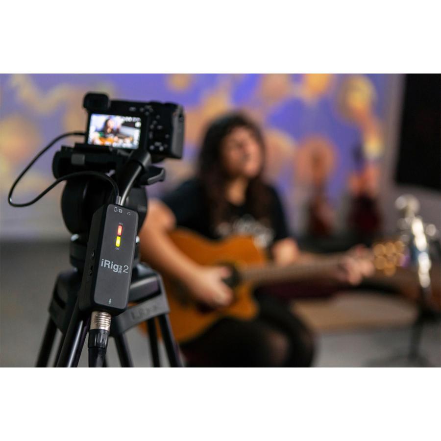 IK Multimedia iRig Pre 2 オーディオ ストリーミング|focalpoint|09