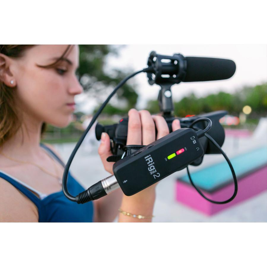 IK Multimedia iRig Pre 2 オーディオ ストリーミング|focalpoint|10