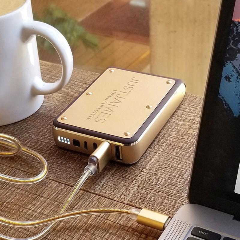 モバイルバッテリー JUSTJAMES OMEGA オメガ 10,400mAh 大容量 PSE focalpoint 06
