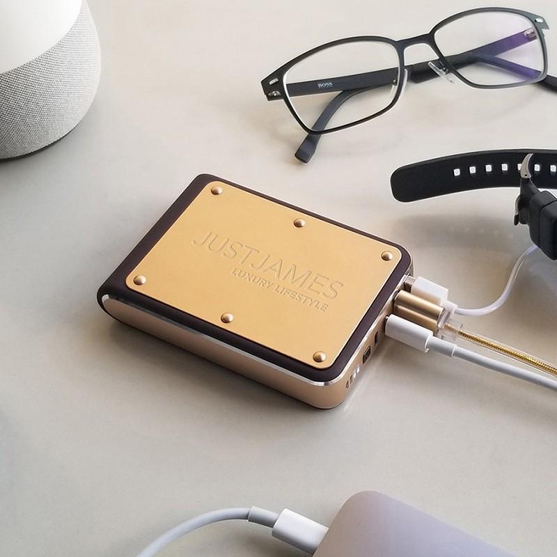 モバイルバッテリー JUSTJAMES OMEGA オメガ 10,400mAh 大容量 PSE focalpoint 07