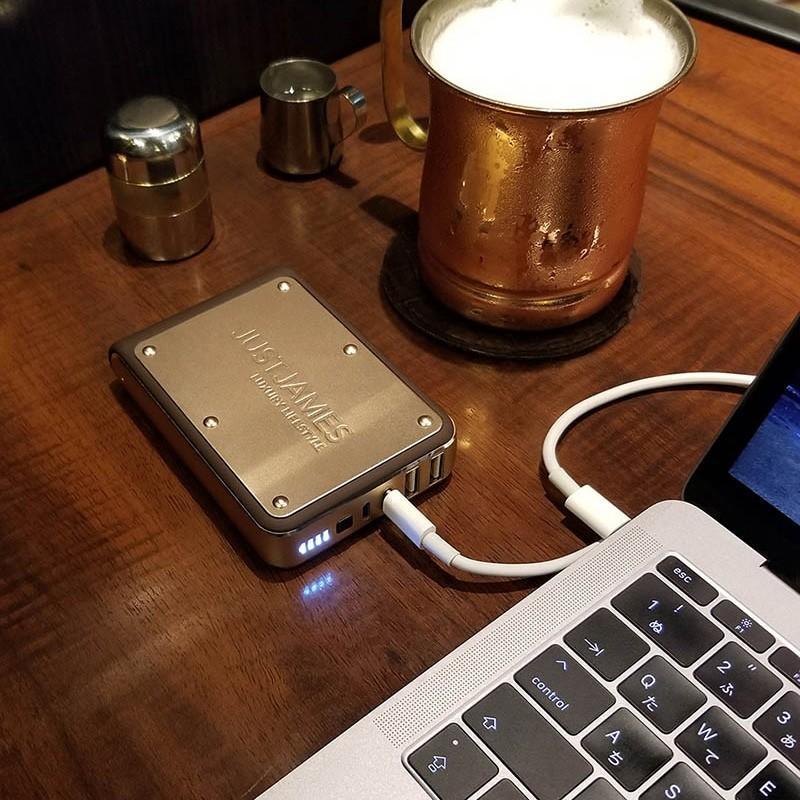 モバイルバッテリー JUSTJAMES OMEGA オメガ 10,400mAh 大容量 PSE|focalpoint|08