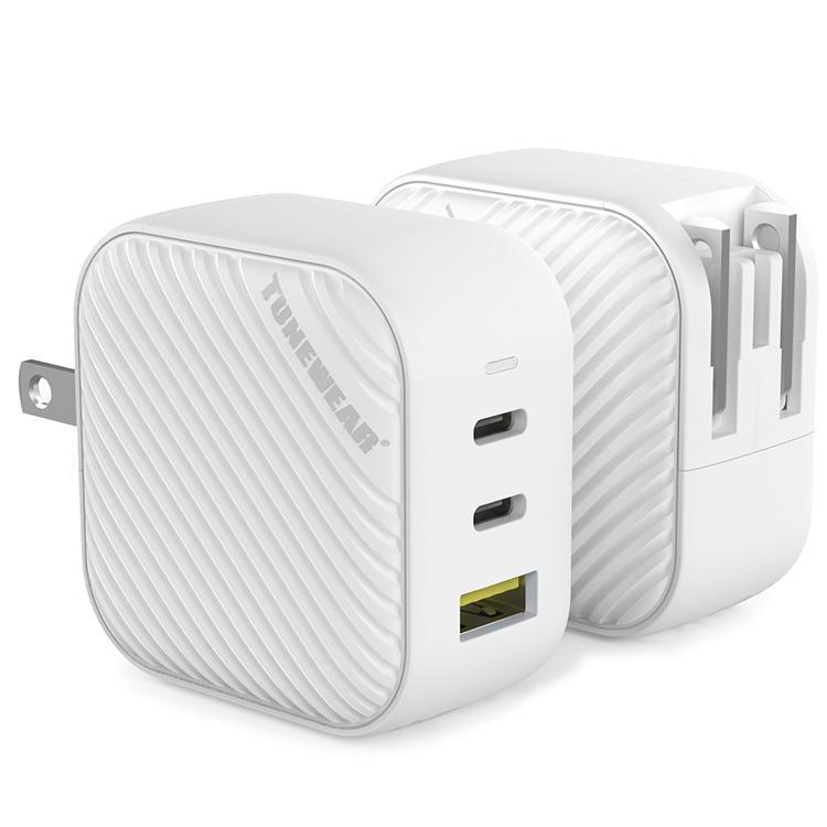 TUNEMAX 66W GaN 3ポート充電器 USB-C USB-A MacBook Surface iPhone Android|focalpoint|02