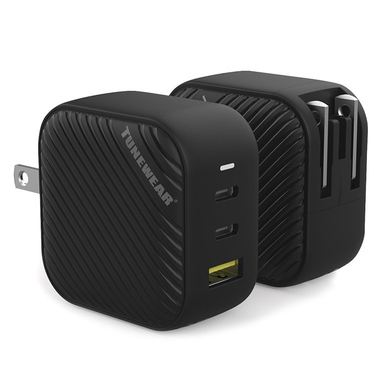 TUNEMAX 66W GaN 3ポート充電器 USB-C USB-A MacBook Surface iPhone Android|focalpoint|03