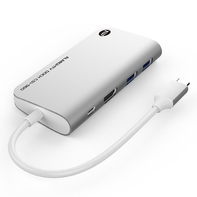 USBハブ TUNEWEAR ALMIGHTY DOCK CS1 120GB ストレ−ジ SSD HDMI 4K ドッキングステーション 全2種|focalpoint|02