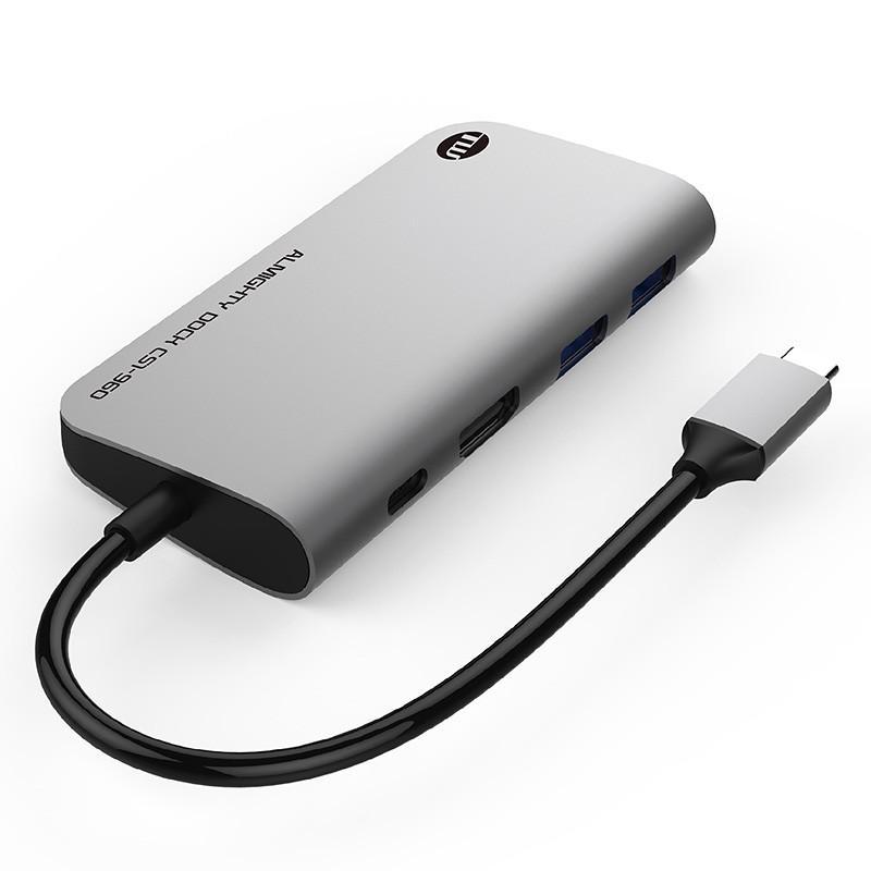 USBハブ TUNEWEAR ALMIGHTY DOCK CS1 120GB ストレ−ジ SSD HDMI 4K ドッキングステーション 全2種|focalpoint|03