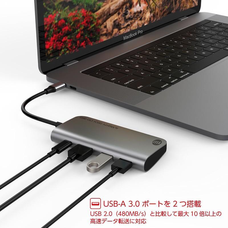 USBハブ TUNEWEAR ALMIGHTY DOCK CS1 960GB ストレ−ジ SSD HDMI 4K ドッキングステーション 全2種|focalpoint|08