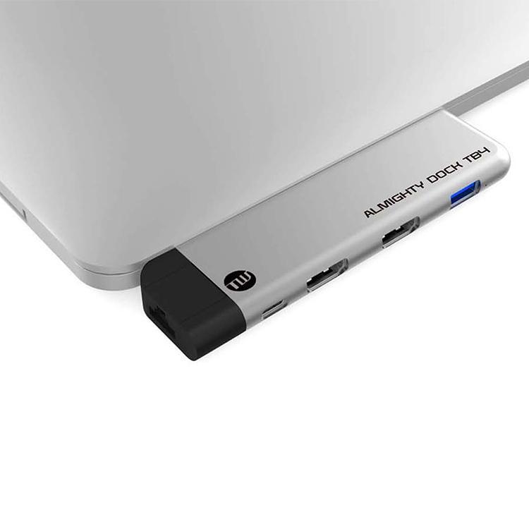 TUNEWEAR ALMIGHTY DOCK TB4 for Macbook Pro / Air 全2色 トリプルディスプレイ テレワーク ドッキングステーション focalpoint 04