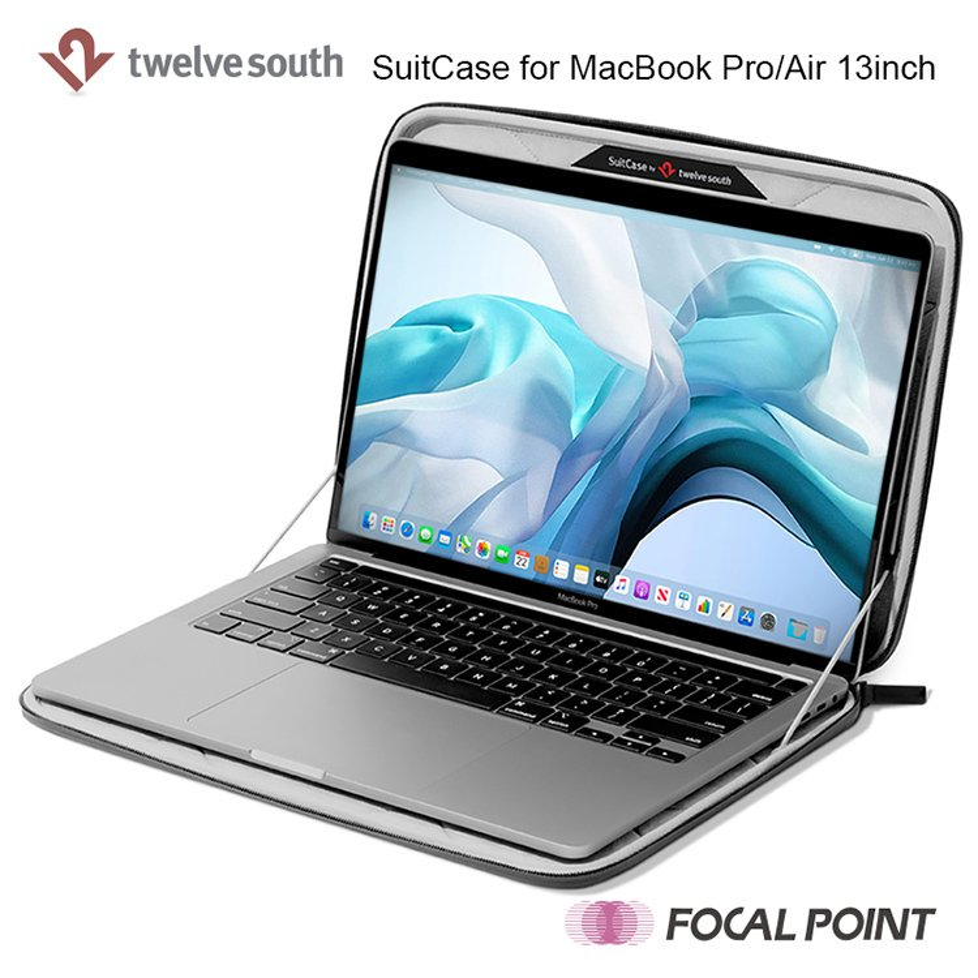 Twelve South SuitCase for MacBook Pro/Air 13-inch トゥエルブサウス スーツケース フォーマックブックプロ エア13インチ|focalpoint