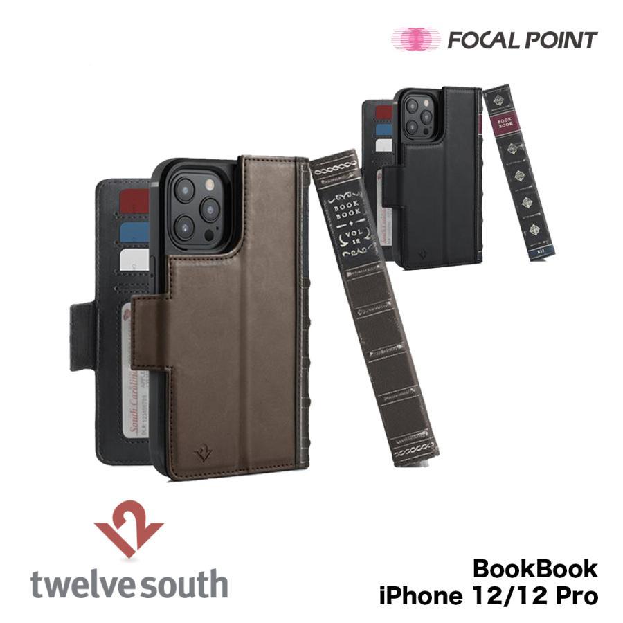 iPhone用ケース Twelve South BookBook iPhone 12/12 Pro 手帳型  ワイヤレス充電対応 全2種|focalpoint