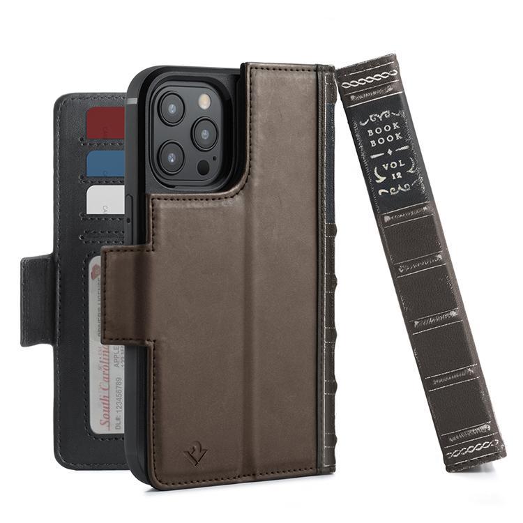 iPhone用ケース Twelve South BookBook iPhone 12/12 Pro 手帳型  ワイヤレス充電対応 全2種|focalpoint|02