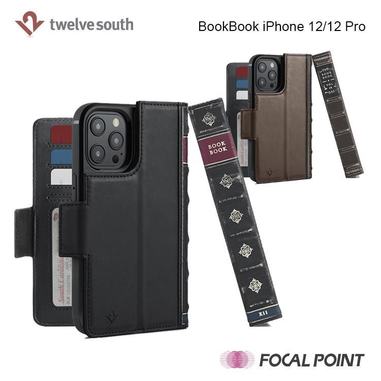 iPhone用ケース Twelve South BookBook iPhone 12/12 Pro 手帳型  ワイヤレス充電対応 全2種|focalpoint|03