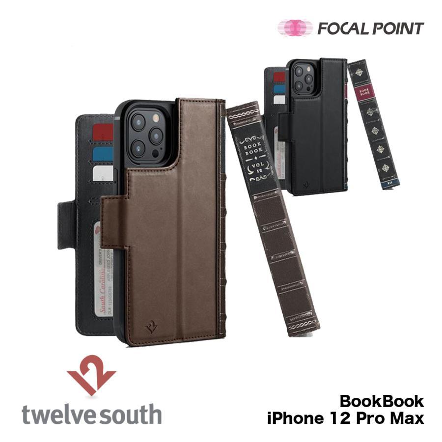 iPhone用ケース Twelve South BookBook iPhone 12 Pro Max 手帳型  ワイヤレス充電対応 全2種|focalpoint