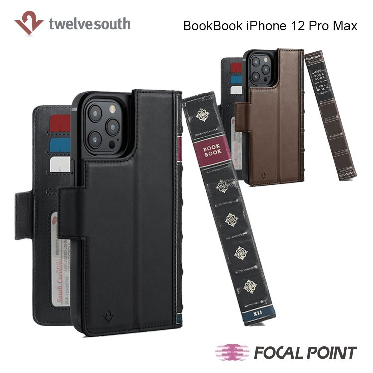 iPhone用ケース Twelve South BookBook iPhone 12 Pro Max 手帳型  ワイヤレス充電対応 全2種|focalpoint|03