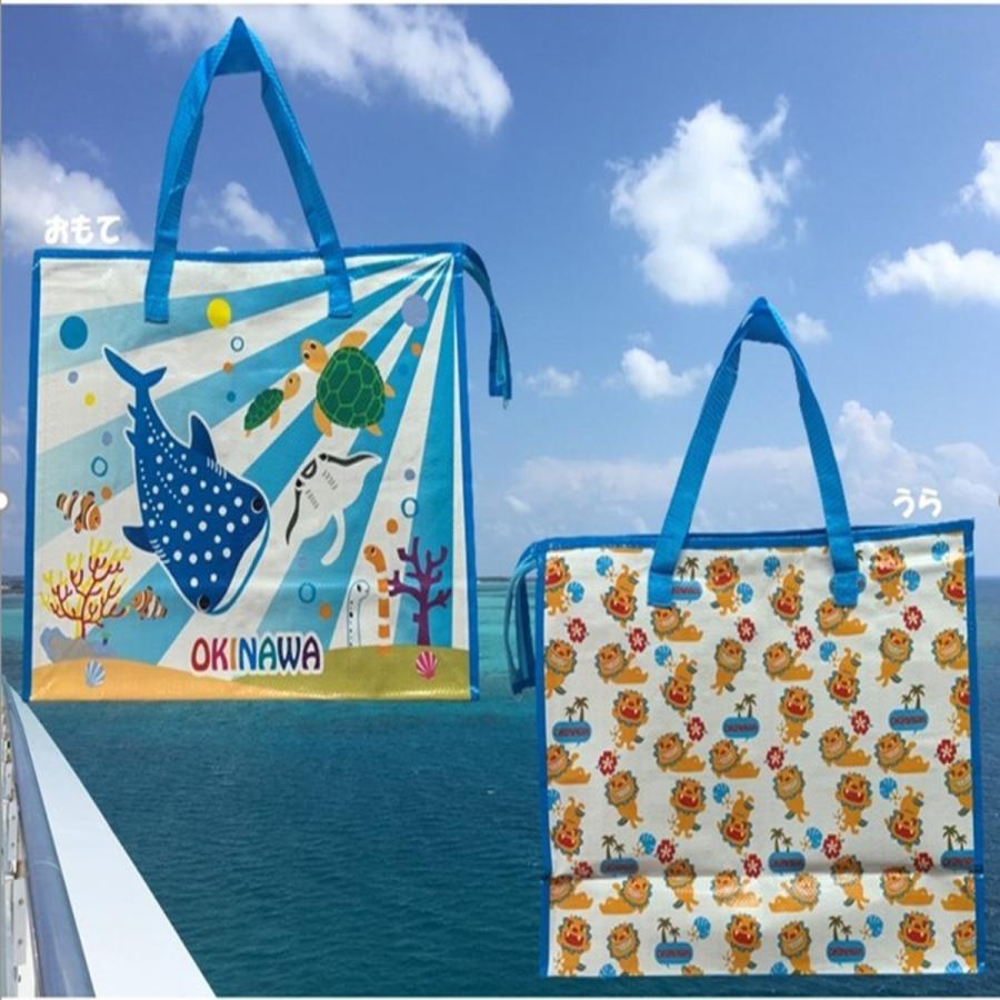 買い物バッグ ショッピングバッグ おしゃれ 大容量 沖縄 ご当地 お土産バッグ 沖縄雑貨|folcartokinawa|02