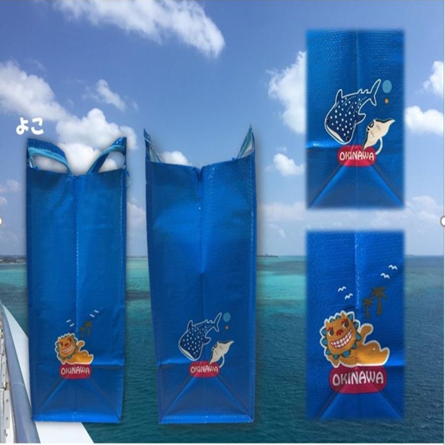 買い物バッグ ショッピングバッグ おしゃれ 大容量 沖縄 ご当地 お土産バッグ 沖縄雑貨|folcartokinawa|03