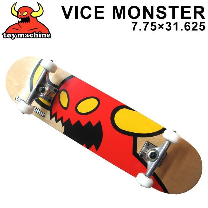 クリスマス限定仕様 TOY MACHINE トイマシーン スケートボード コンプリート VICE MONSTER (7.75) [TM-2] 完成品スケボー SKATE ブランクトラック・ウィール