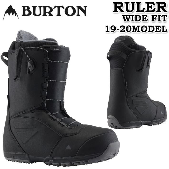 送料無料 19-20 BURTON バートン RULER WIDE FIT ルーラー ワイドフィット スノーボードブーツ メンズ スノーブーツ 日本正規品
