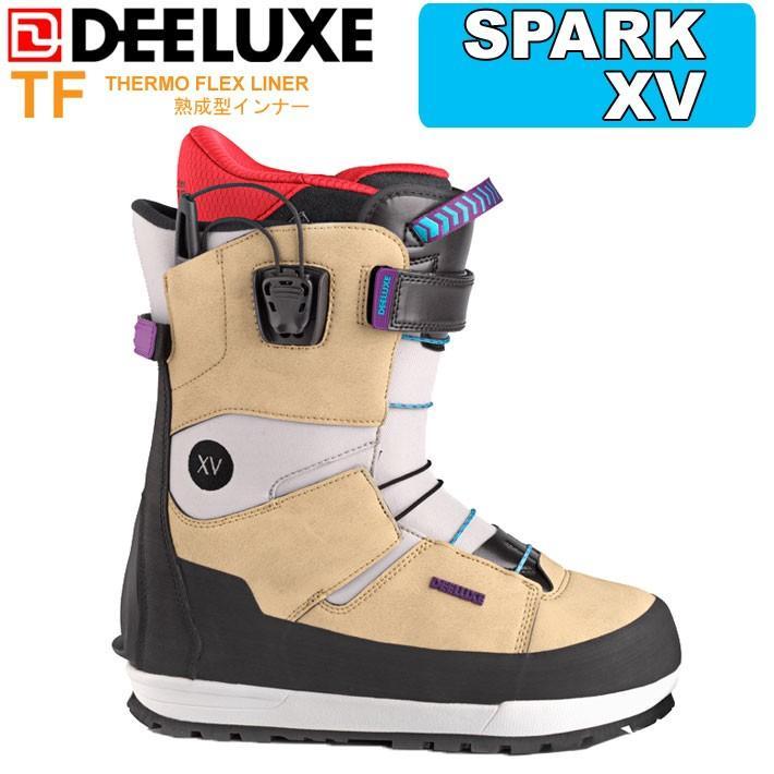 送料無料 19-20 DEELUXE ディーラックス Spark XV TF スパーク エックスヴィ サーモインナー メンズ スノーボード ブーツ バックカントリー 日本正規品