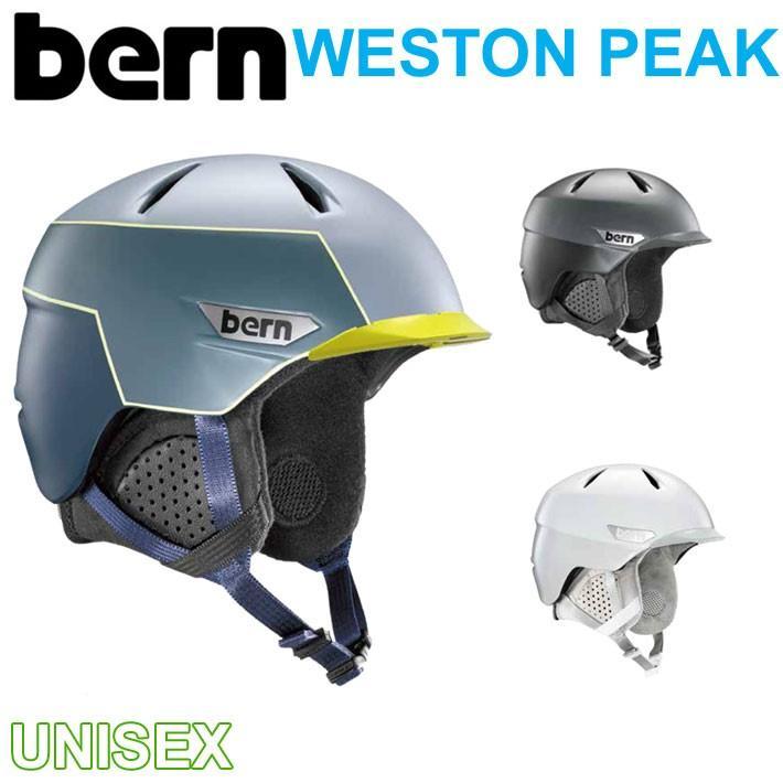 19-20 bern バーン ヘルメット WESTON PEAK ウエストン ピーク UNISEX ユニセックス ウインター スノーボード スキー ベルン 正規品