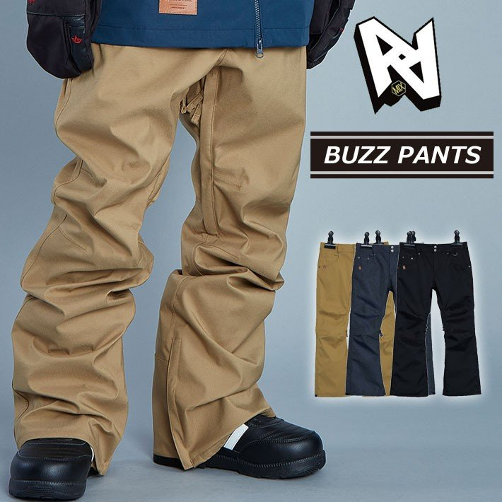 19-20 AA hardwear ダブルエー ウエア 【BUZZ PANTS 】 バズパンツ メンズ パンツ スノーボード SNOW WEAR ウェアー