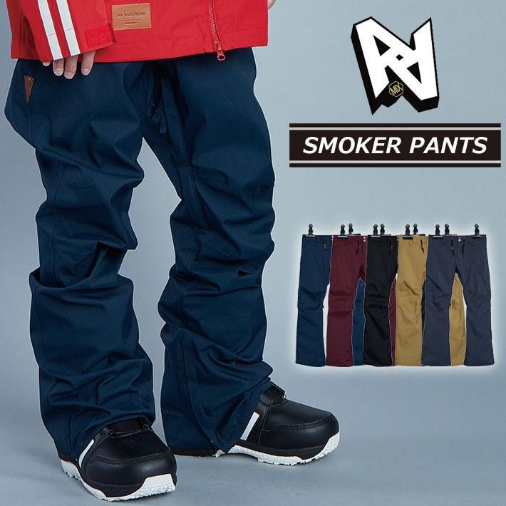 19-20 AA hardwear ダブルエー ウエア 【SMOKER PANTS 】 スモーカーパンツ メンズ パンツ スノーボード SNOW WEAR ウェアー