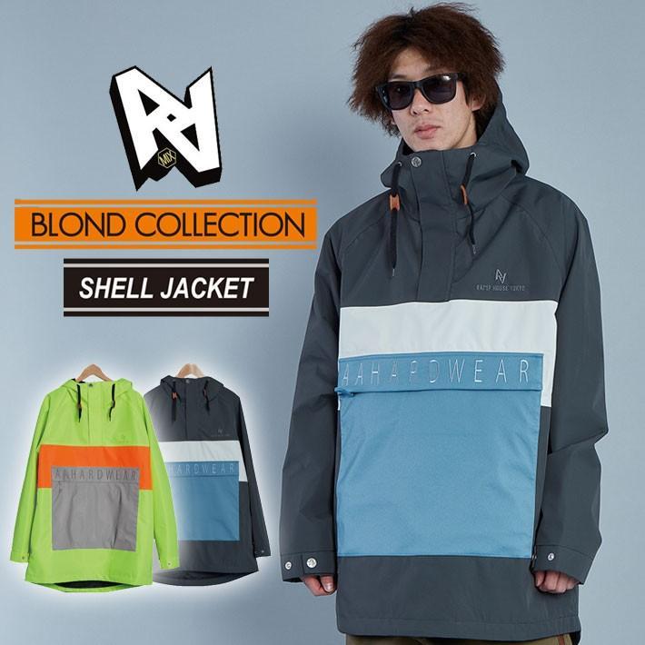 19-20 AA hardwear ダブルエー ウエア BLOND COLLECTION 【SHELL JACKET 】 シェルジャケット メンズ ジャケット スノーボード SNOW WEAR ウェアー