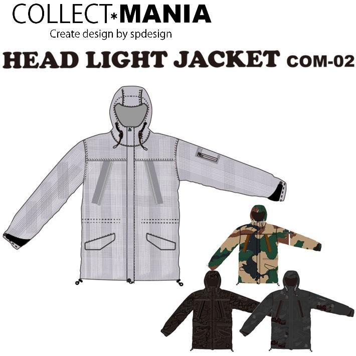 18-19 COLLECT MANIA コレクトマニア COM-02 HEADLIGHT JACKET [コブラン-CAMO柄] ヘッドライトジャケット スノーボードウェア スノーウェア