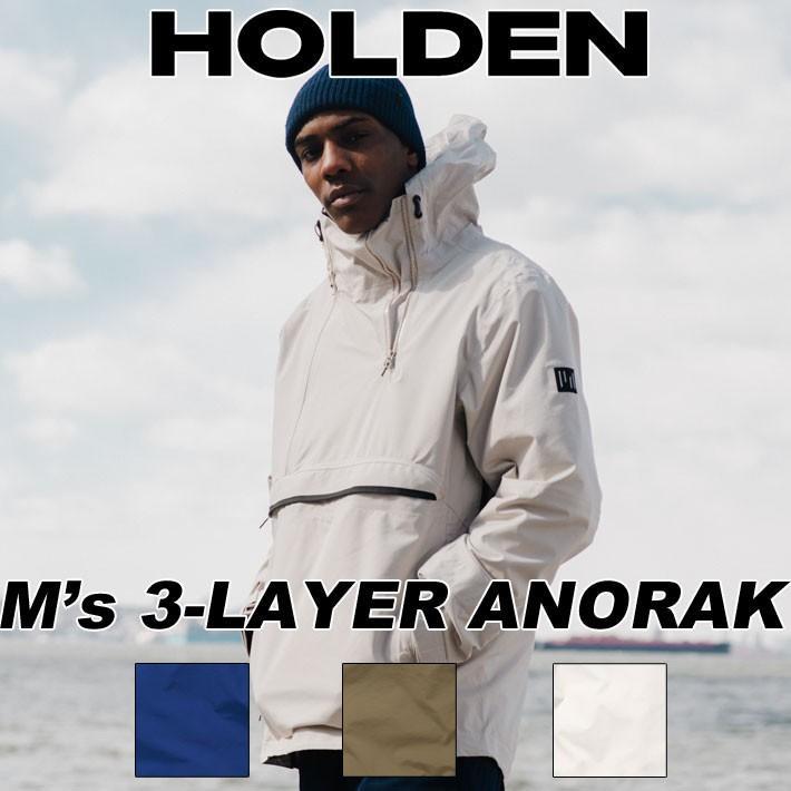 19-20 HOLDEN ホールデン ウェア 3-LAYER ANORAK JACKET スリーレイヤーアノラック ジャケット メンズ スノーボード