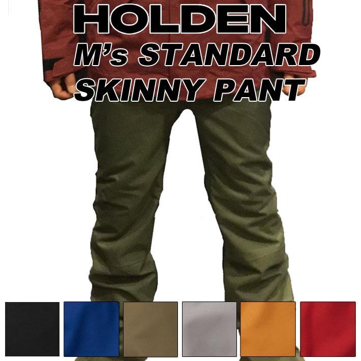 最新最全の [follows特別価格] 19-20 HOLDEN ホールデン ウェア STANDARD SKINNY PANT スタンダード スキニ―パンツ メンズ スノーボード, リンガーハット c844b87c