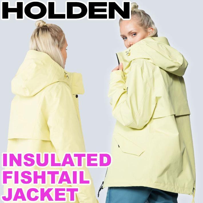 19-20 HOLDEN ホールデン ウェア HARPER JACKET ハーパー ジャケット レディース スノーボード