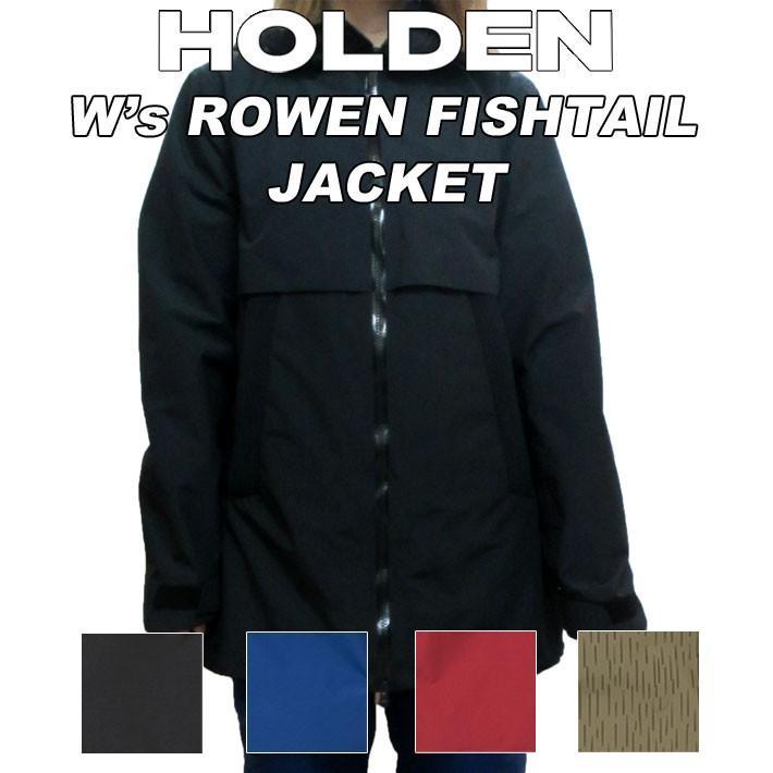 19-20 HOLDEN ホールデン ウェア ROWEN FISHTAIL JACKET ロウエン フィッシュテール ジャケット レディース スノーボード