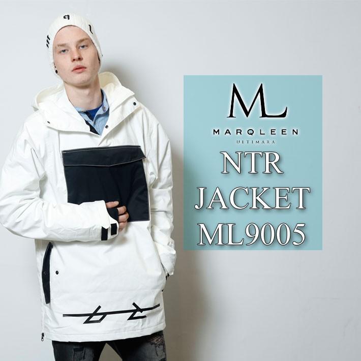19-20 MARQLEEN マークリーン スノーボードウェア NTR JACKET ML9005 エヌティーアール ジャケット ユニセックス [ 990 , 991 , 000 , 985 , 995 ]