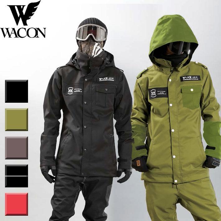 19-20 WACON スノーボードウェア メンズ EDGE エッジ JACKET ワコン スノボジャケット