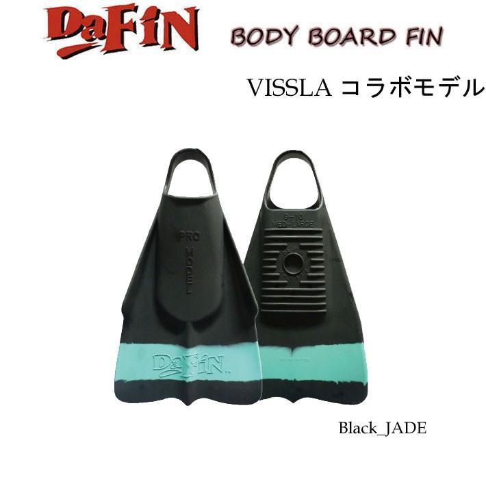 [送料無料]ボディーボード フィン DA FIN×VISSLA ダフィン×ヴィスラ コラボモデル スイムフィン [ユニセックス]