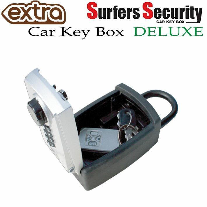 超特価 送料無料 EXTRA エクストラ サーファーズセキュリティー デラックス SURFER#039;S SECURITY キーケース キーロッカー お値打ち価格で DELUX 暗証番号ダイヤル式 キーボックス