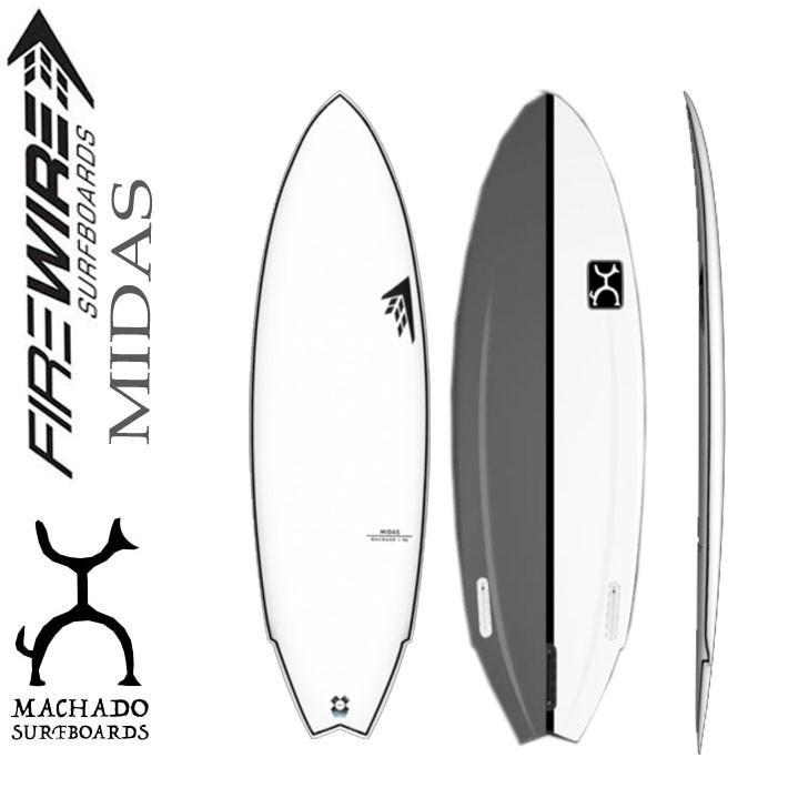FIREWIRE SURFBOARDS ファイヤーワイヤー サーフボード MIDAS マイダス Rob Machado ロブ・マチャド [LFT] ショートボード [条件付き送料無料]