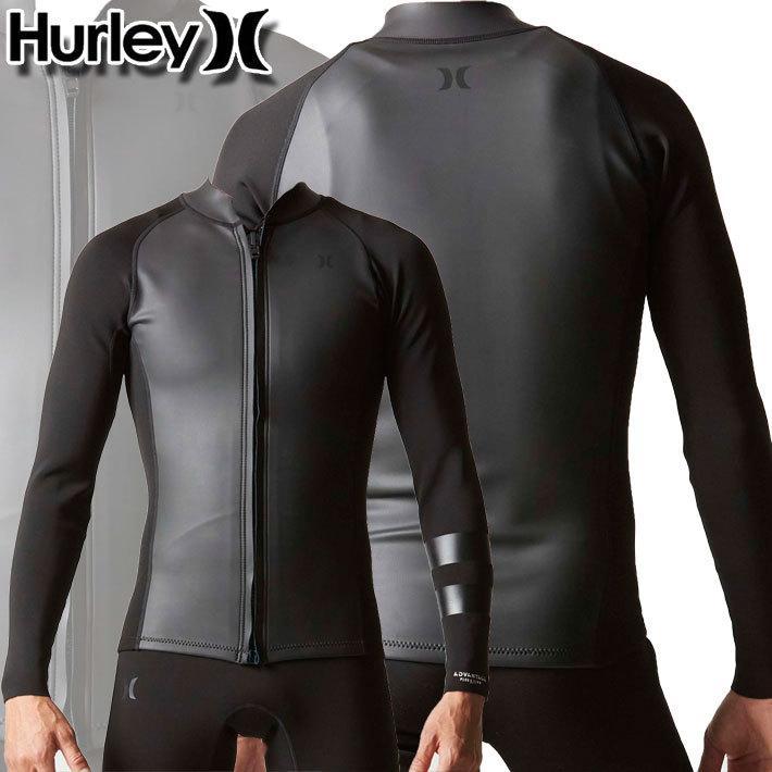 2021 Hurley ハーレー ウェットスーツ 授与 フロントジップ ジャケット メンズ 1mm JACKET FRONTZIP 春夏 MZFZJK21 お得 ADVANTAGE サーフィン PLUS