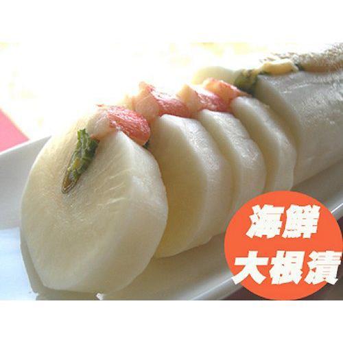 伝統の味「海鮮大根漬」 かずの子 たこ ホタテ ズワイガニ挟み込み|foodwave