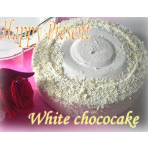 送料無料/北海道ホワイトチョコケーキ 直径21cm/7号 foodwave 02