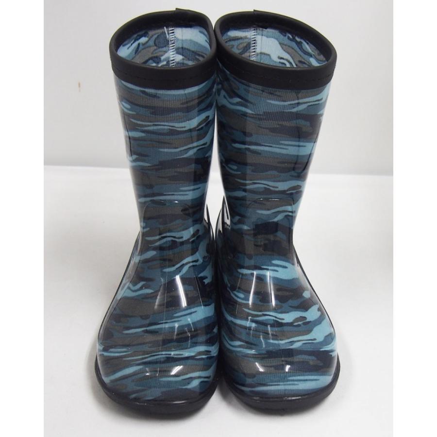 男児 メイサイ PVC レインブーツ 子供 男の子 長靴 迷彩柄 カモフラ 黒 緑 青 グレーの4色 foot-rain 08
