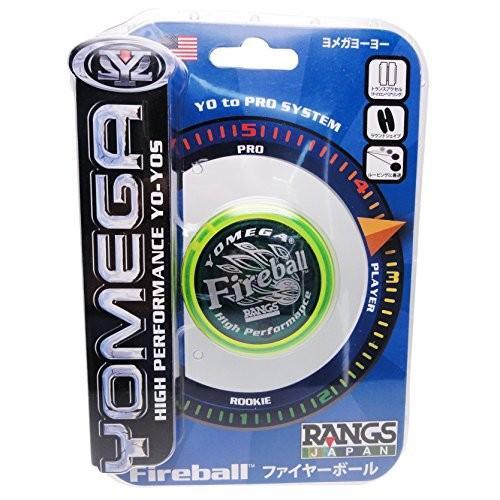 ラングスジャパン(RANGS) ヨーヨー ヨメガ ファイヤーボール イエローブルー football-item 05