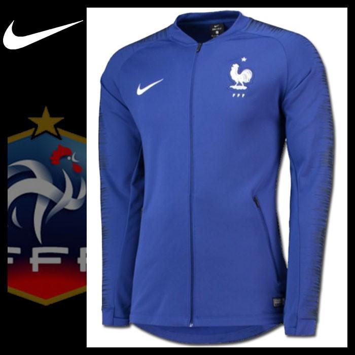 フランス代表 アンセムジャケット 2018 NIKE ブルー