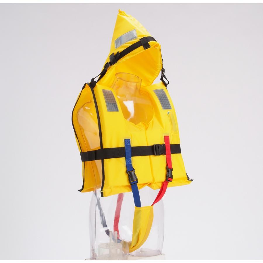 水難防災個人保護具/幼児から大人までサイズ対応、省スペース収納タイプM専用ケース付き|for-tune-shop