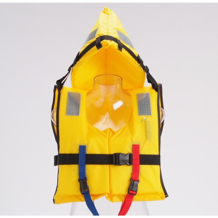 水難防災個人保護具/幼児から大人までサイズ対応、省スペース収納タイプM専用ケース付き|for-tune-shop|02
