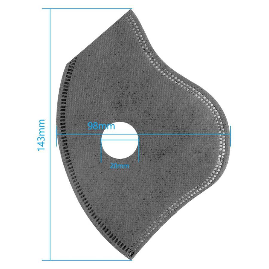 Fortune Sports Mask エアバルブ付きスポーツマスク用 交換フィルター5枚セット|for-tune-shop|03